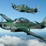FAB intercepta aeronave suspeita em zona de exclusão aérea