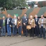 Gabinete do Comandante do Exército promove viagem de parlamentares ao Comando Militar do Sul