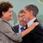 Dilma e Amorim destacam integração com a América do Sul em cerimônia no Itamaraty