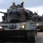 Novos carros de combate Gepard realizam primeiros tiros reais
