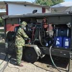 Adestramento do emprego de material de Defesa NBQR no Centro Tecnológico do Corpo de Fuzileiros Navais