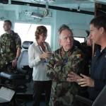 Deputy Force Commander da UNIFIL visita a Força-Tarefa Marítima