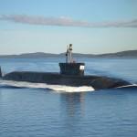 Submarinos classe Borey reiniciam testes de mar