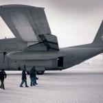 C-130 Hércules da FAB em operação na Antártida