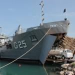 NDCC Almirante Saboia presta apoio logístico ao 18º Contingente Brasileiro no Haiti