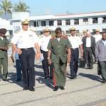 Escola Naval recebe visita do Comandante da Academia Militar de Moçambique