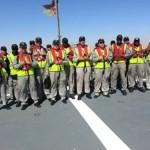 Missão de Assessoria Naval na Namíbia realiza Inspeção Operativa em navio da Marinha
