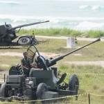 1ª Brigada de Artilharia Antiaérea realiza adestramento na Marambaia