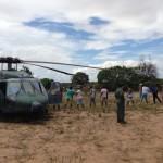 FAB resgata 162 vítimas das enchentes no Espírito Santo