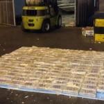 Forças de segurança do Equador realizam uma série de grandes apreensões de drogas