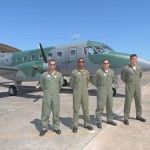 Militares da Marinha do Brasil fazem curso de Especialização Operacional em Aeronaves Multimotor