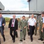 Base Aérea de Anápolis recebe visita de comitiva da SAAB