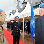 Pela quarta vez Almirante brasileiro assume comando de Missão de Paz no Líbano