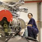 Mecânicas aeronáuticas conquistam espaço na Helibras