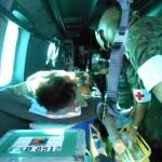 Soldado do Centro de Lançamento de Alcântara é socorrido por helicóptero da FAB