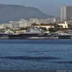 """Segundos-Tenentes e Guardas-Marinha participam de aulas práticas a bordo do Navio Aeródromo """"São Paulo"""""""
