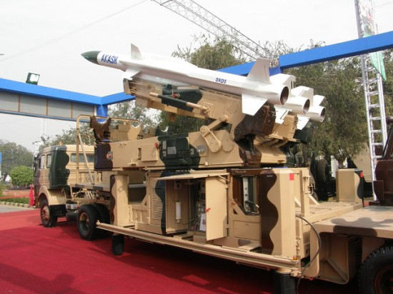 Akash India Anti Aircraft Missile System
