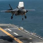 Australia estuda implantar os F-35B aos seus navios LHD Camberra e Adelaide