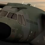O KC-390 vai tomando forma
