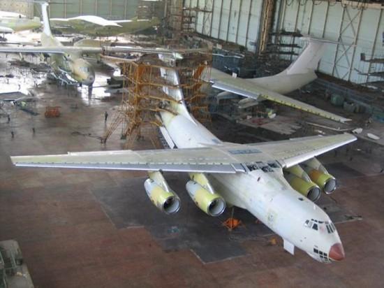 Modernized Russian Il-476 Transport Aircraft (2)