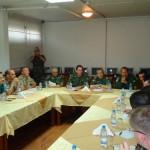 """Força-Tarefa Marítima da UNIFIL e Marinha do Líbano participam de reunião do tipo """"Flag Talks"""""""