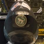 Reino Unido lança o mais novo submarino nuclear o HMS Artful