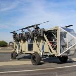 Caminhão, helicóptero ou drone? Conheça o Black Knight Transformer