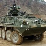 Exército Colombiano recebem blindados M1126 STRYKER 8X8 em vez dos LAV III