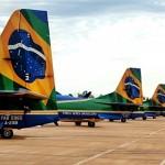 Esquadrilha participa de treinamento em condições de frio e baixa altitude
