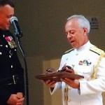 Comando do Corpo de Fuzileiros Navais dos EUA presta homenagem à Marinha do Brasil