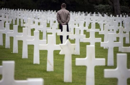 Ceminterio na Normandia