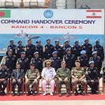 Comandante da FTM-UNIFIL preside cerimônia de substituição de navios de Bangladesh