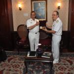 Comando de Operações Navais recebe visita do Comandante da Marinha do Líbano