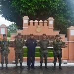 Capitania Fluvial de Tabatinga recebe visita do Comandante da 16ª Brigada de Infantaria de Selva