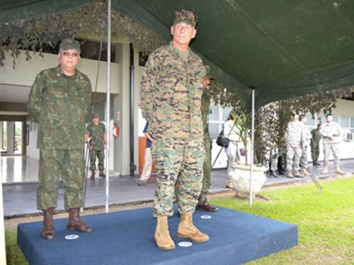 Comandante do Comando Sul dos Estados Unidos agradece recepção