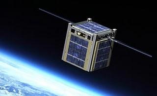 Concepção Artística de um Cubesat