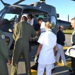 Esquadrão HU-4 realiza EVAM de militar do Exército Brasileiro