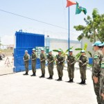 Oficiais da Aeronáutica participam de inspeção no Haiti