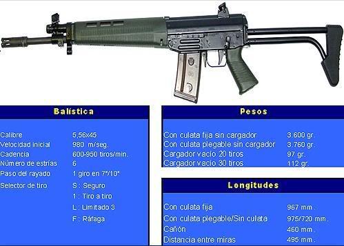 FusilFAMAESG540-1Cl556mm