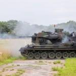 Exército Brasileiro recebe carregamento de munições para Viatura Blindada Gepard 1A2