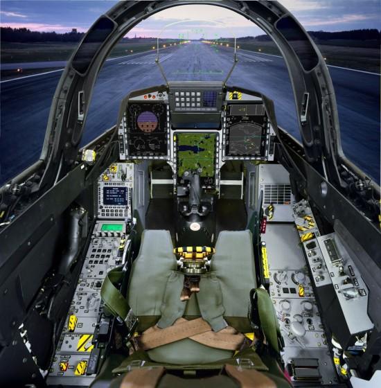 Gripen-C-cockpit