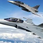 Saab vai atualizar especificação do Gripen NG