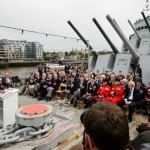 Veteranos recordam o desembarque na Normandia a bordo do HMS Belfast