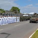 Marinha apresenta tropas e meios empregados na defesa da capital federal durante a Copa do Mundo