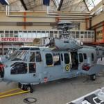Helibras realiza primeiras inspeções A/T dos EC725 no Brasil