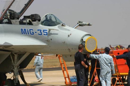 MiG-35 Nose Radar 01
