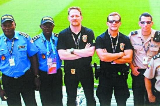 Policia na Copa