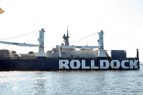 Rolldock sea
