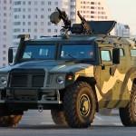 Forças especiais russas recebem dez veículos blindados Tigre