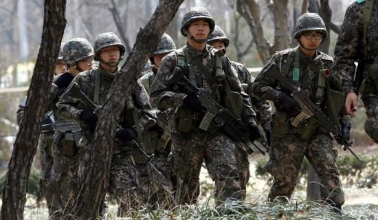 Soldados Sul Coreanos